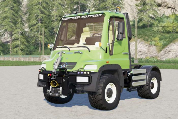 Mercedes-Benz Unimog U400 (Br.405) 2000 FS19 - Farming ...
